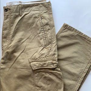 MENS Levi Cargo pants khaki size 36x32